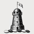 Macallum family crest, coat of arms