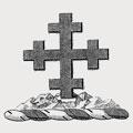 Parish family crest, coat of arms