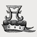 Abbeford family crest, coat of arms