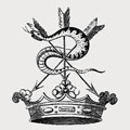 De Mauley family crest, coat of arms