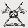 Waldesheff family crest, coat of arms