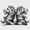 Lanburn family crest, coat of arms