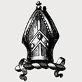 Abelon family crest, coat of arms