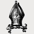 Abelon family crest, coat of arms