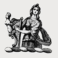 Dankyrsley family crest, coat of arms