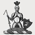 Dangar family crest, coat of arms