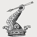 Randolph-Lichfield family crest, coat of arms