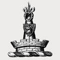Ramsden family crest, coat of arms