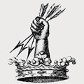 Parnell family crest, coat of arms