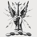 Arbuthnott family crest, coat of arms