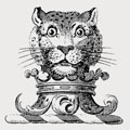Parker family crest, coat of arms