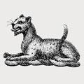 Packenham family crest, coat of arms