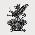 Aldersey family crest, coat of arms