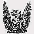 La Trobe-Bateman family crest, coat of arms
