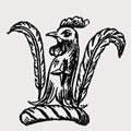 Galpin family crest, coat of arms