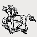 Ince family crest, coat of arms