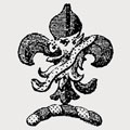À Beckett family crest, coat of arms