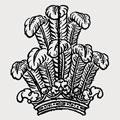 Baghot-De La Bere family crest, coat of arms