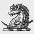 Palitana family crest, coat of arms