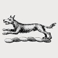 Quarrell family crest, coat of arms