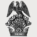 Arcedeckne family crest, coat of arms