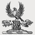 Zouche family crest, coat of arms