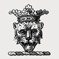 Monteagle family crest, coat of arms