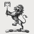 Unsworth family crest, coat of arms
