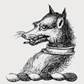 Gant family crest, coat of arms
