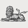 Panton family crest, coat of arms