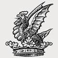 Vaughan family crest, coat of arms