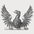 Waithman family crest, coat of arms