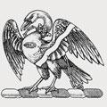 Ochterlony family crest, coat of arms