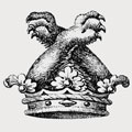 Attone family crest, coat of arms
