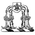 Archbold family crest, coat of arms