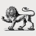 Pardoe family crest, coat of arms