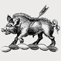 Annott family crest, coat of arms