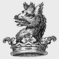 Rande family crest, coat of arms