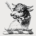 Walcott family crest, coat of arms