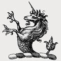 Younge family crest, coat of arms