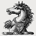 Uderaj family crest, coat of arms