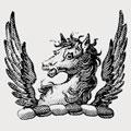 Radborne family crest, coat of arms