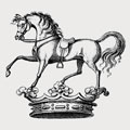 Cottrell family crest, coat of arms