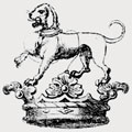 Ancaster family crest, coat of arms
