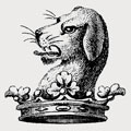 Evreux family crest, coat of arms