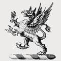 Aldrich family crest, coat of arms