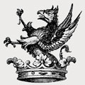Besney family crest, coat of arms