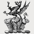 Alderson family crest, coat of arms