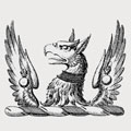 Wallford family crest, coat of arms