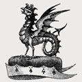 Unett family crest, coat of arms